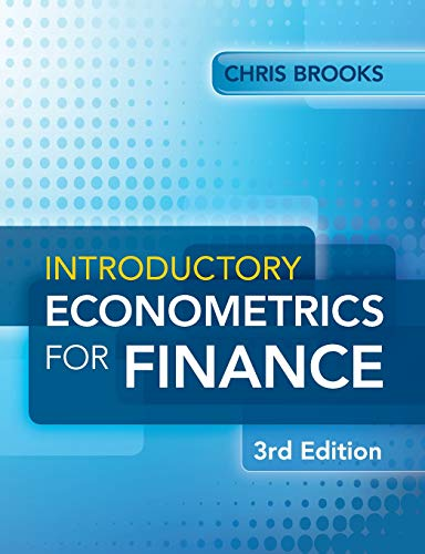 9781107661455: Introductory Econometrics for Finance