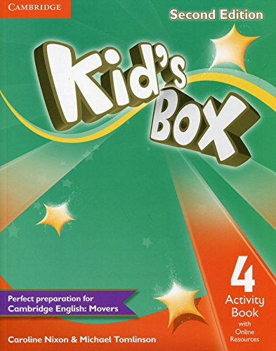 9781107661462: Kid's Box Level 4 Activity Book with Online Resources