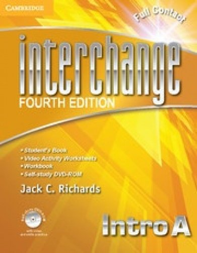 9781107661530: Interchange Intro Super Value Pack Full Contact B with Self-Study DVD-ROM and Online Workbook B (Interchange Fourth Edition)