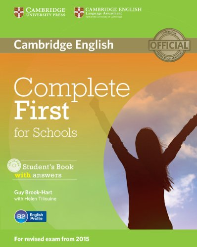 9781107661592: Complete First for Schools Student's Book with Answers with CD-ROM