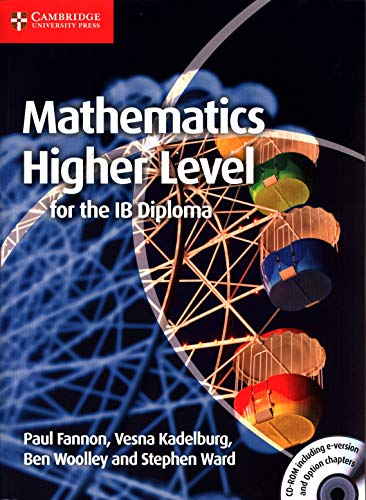 9781107661738: Mathematics for the IB Diploma: Higher Level with CD-ROM