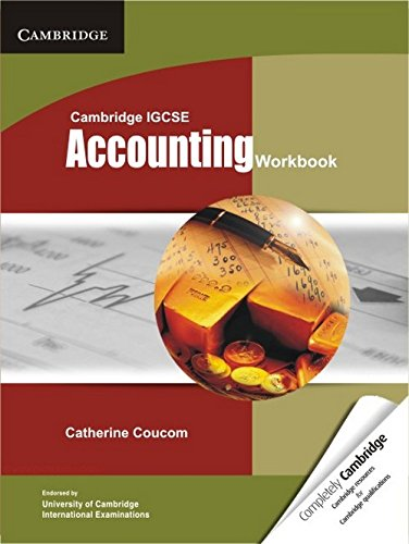 Cambridge IGCSE Accounting Workbook (Cambridge International IGCSE): Coucom, Catherine