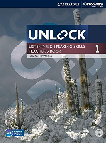 Unlock Level 1 Listening and Speaking Skills: Ostrowska, Sabina
