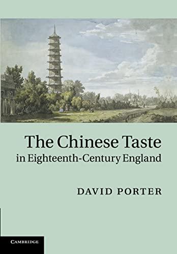 9781107662377: The Chinese Taste in Eighteenth-Century England