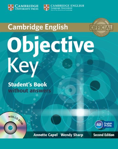 9781107662827: Objective Key Student's Book without Answers with CD-ROM.