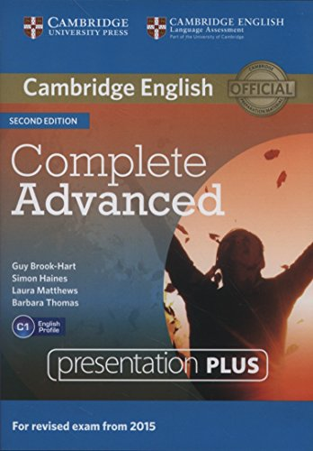 9781107662896: Complete Advanced Presentation Plus DVD-ROM