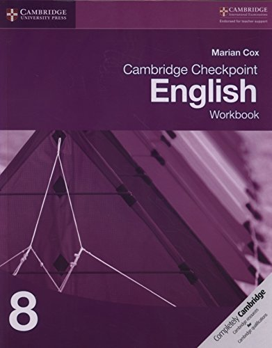 Cambridge Checkpoint English Workbook 8: Marian Cox