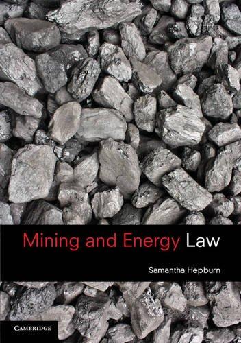 Mining and Energy Law: Samantha Hepburn