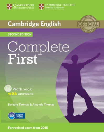 9781107663398: Complete First Workbook with Answers with Audio CD.