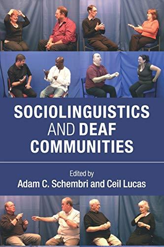 9781107663862: Sociolinguistics and Deaf Communities