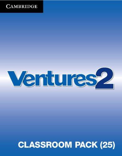 9781107664142: Ventures Level 2 Classroom Pack (Student's Books, Workbooks, Class Audio CDs, Teacher's Edition, Career Pathways)