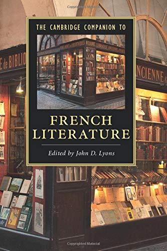 9781107665224: The Cambridge Companion to French Literature