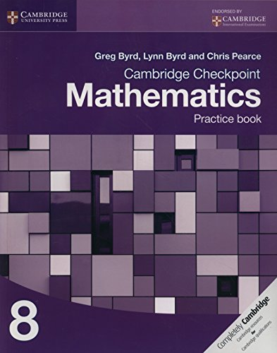 9781107665996: Cambridge Checkpoint Mathematics Practice Book 8 (Cambridge International Examinations)