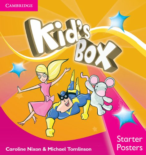 9781107666030: Kid's Box Starter Posters (8)