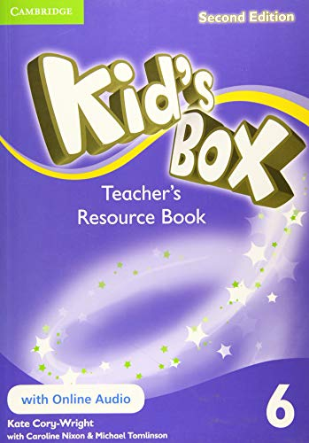 9781107666290: Kid's Box Level 6 Teacher's Resource Book with Online Audio