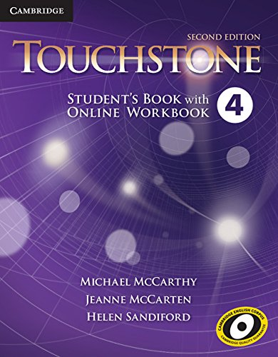 9781107666528: Touchstone Level 4 Student's Book with Online Workbook Second Edition