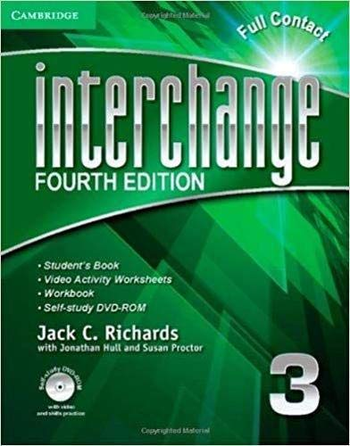 9781107666849: Interchange Level 3 Full Contact with Self-study DVD-ROM (Interchange Fourth Edition)