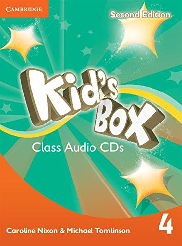 Kid s Box Level 4 Class Audio: Caroline Nixon, Michael