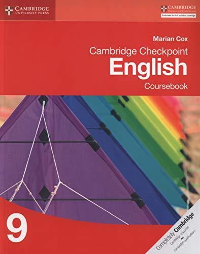 9781107667488: Cambridge Checkpoint English. Coursebook 9 (Cambridge International Examin)