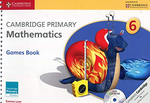 9781107667815: Cambridge Primary Mathematics Stage 6 Games Book with CD-ROM (Cambridge Primary Maths)