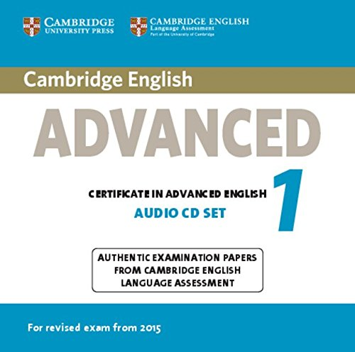 9781107668041: Cambridge English Advanced 1 for Revised Exam from 2015 Audio CDs (2) (CAE Practice Tests)
