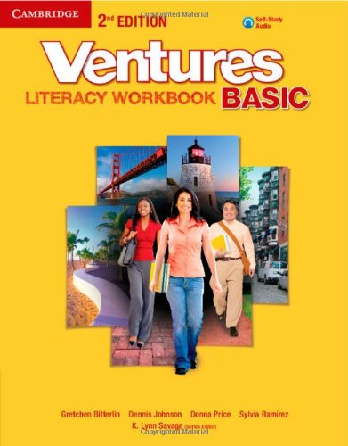 9781107668591: Ventures Basic Literacy Workbook with Audio CD