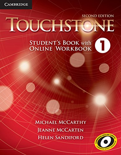 9781107668782: Touchstone Level 1 Student's Book with Online Workbook Second Edition
