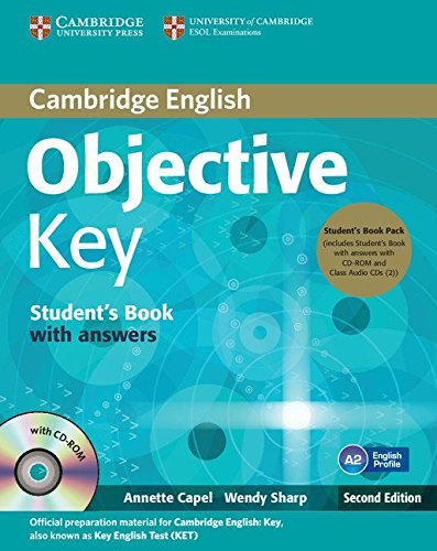 9781107668935: Objective Key 2nd Student's Book Pack (Student's Book with Answers with CD-ROM and Class Audio CDs(2))