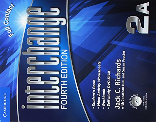 9781107669536: Interchange Level 2 Super Value Pack Full Contact a with Self-Study DVD-ROM and Online Workbook a (Interchange Fourth Edition)