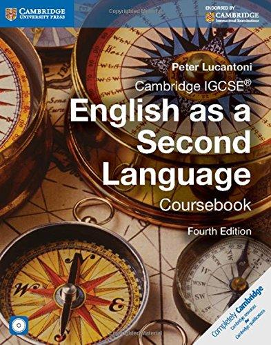 9781107669628: Cambridge IGCSE English as a Second Language Coursebook with Audio CD.