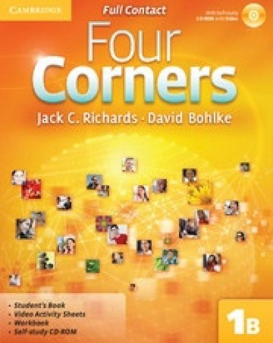 Four Corners Level 1 Super Value Pack (Full Contact B with Self-Study CD-ROM and Online Workbook B)...