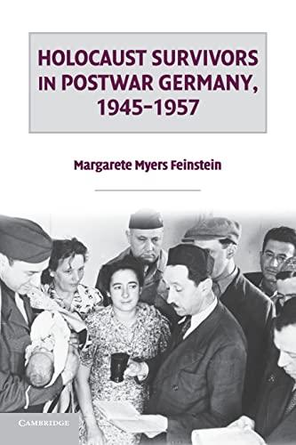 9781107670198: Holocaust Survivors in Postwar Germany, 1945-1957