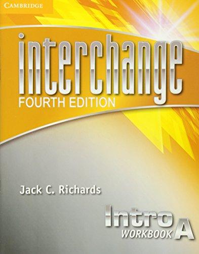 9781107670204: Interchange 4th Intro Workbook A (Interchange Fourth Edition)