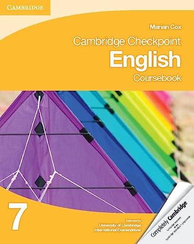 9781107670235: Cambridge checkpoint english. Coursebook 7. Con espansione online. Per le Scuole superiori (Cambridge International Examin)