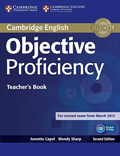 9781107670563: Objective Proficiency Teacher's Book Second edition
