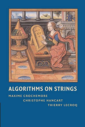 9781107670990: Algorithms on Strings