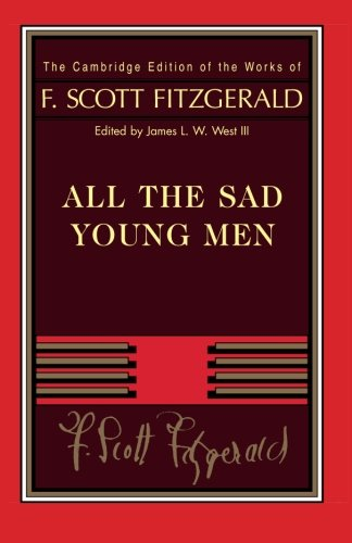 9781107671737: Fitzgerald: All The Sad Young Men (The Cambridge Edition of the Works of F. Scott Fitzgerald)