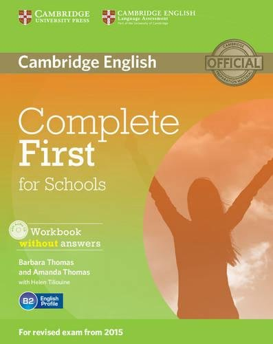 9781107671799: Complete First for Schools Workbook without Answers with Audio CD