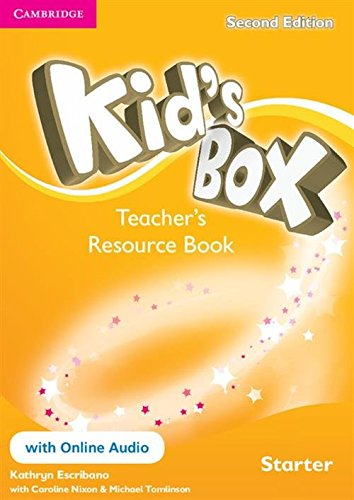 9781107672208: Kid's Box Starter Teacher's Resource Book with Online Audio Second Edition - 9781107672208