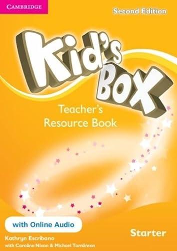 9781107672208: Kid's Box Starter Teacher's Resource Book with Online Audio