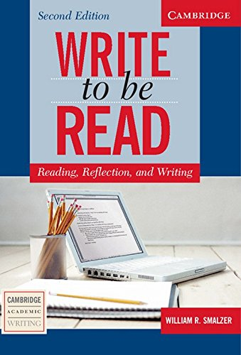 9781107672499: Write to Be Read: Reading, Reflection and Writing - Students Book