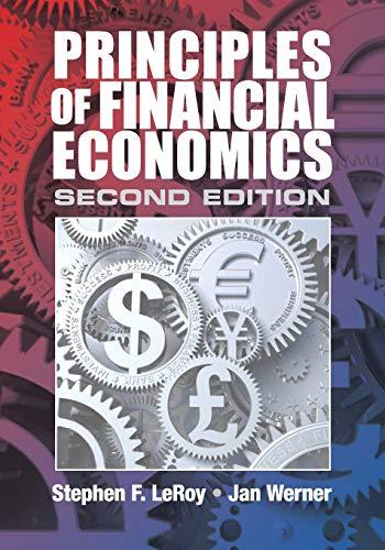 9781107673021: Principles of Financial Economics