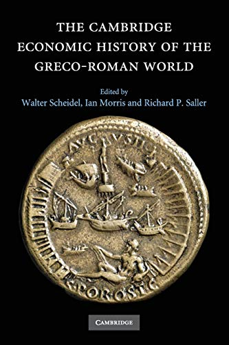 9781107673076: The Cambridge Economic History of the Greco-Roman World