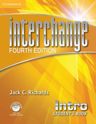 9781107673830: Interchange Intro Student's Book with Self-study DVD-ROM and Online Workbook Pack Fourth edition (Interchange Fourth Edition)