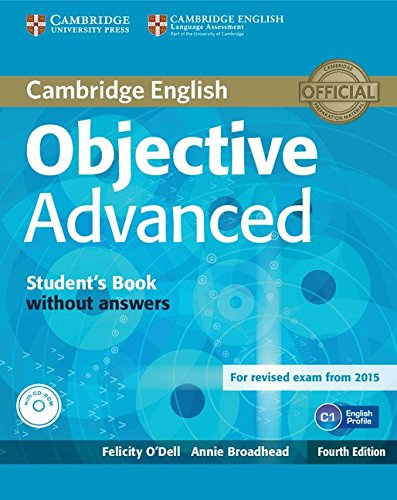 9781107674387: Objective Advanced Student's Book without Answers with CD-ROM [Lingua inglese]