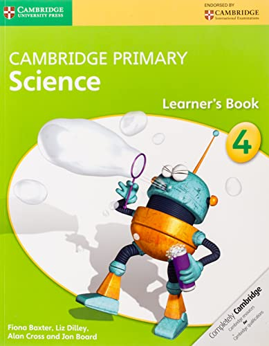 Cambridge Primary Science Stage 4 Learner's Book: Baxter, Fiona