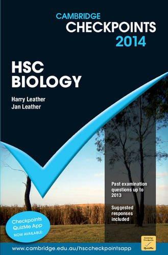 Cambridge Checkpoints HSC Biology 2014-16 (Paperback): Harry Leather, Jan