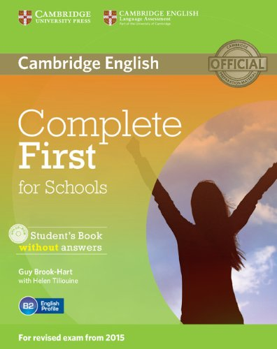 9781107675162: Complete First for Schools Student's Book without Answers with CD-ROM