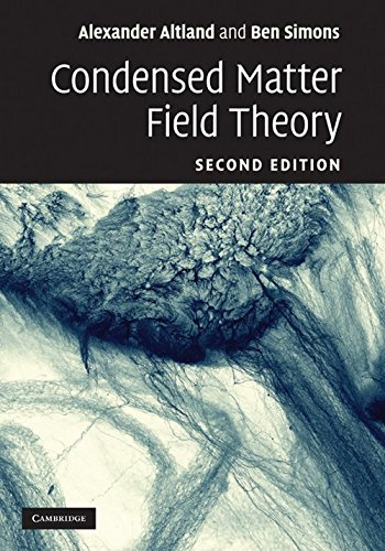 9781107675650: Condensed Matter Field Theory, 2 Ed.