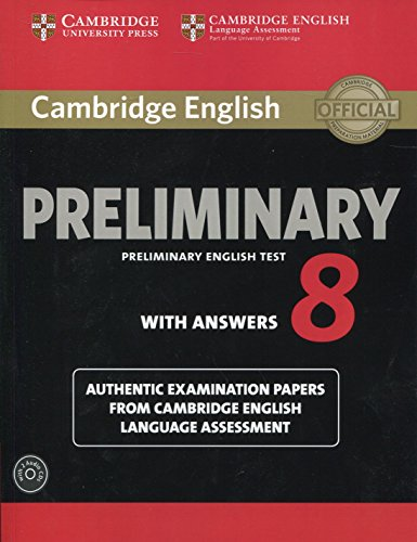 9781107675834: Cambridge English Preliminary 8 Student's Book Pack (Student's Book with Answers and Audio CDs (2)): Authentic Examination Papers from Cambridge English Language Assessment (PET Practice Tests)
